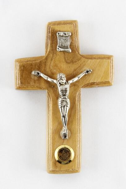 Krzyż z drzewa oliwnego  (1)
