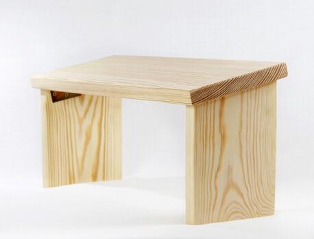 Drewniany klęcznik - składany (1)