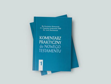 Komentarz praktyczny do Nowego Testamentu - Tom I - uszkodzona okładka (1)