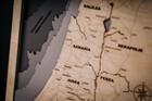 Drewniana mapa Ziemi Świętej (3)