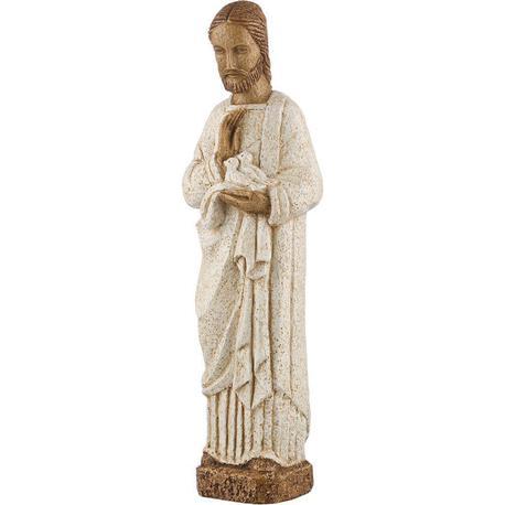 Figurka św. Józefa z gołąbkami (1)