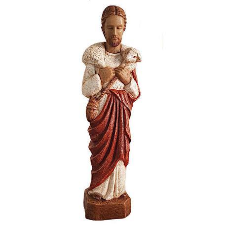 Figurka Dobry Pasterz w czerwonej szacie (1)