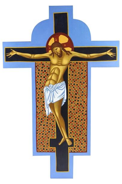 Ikona pisana ręcznie - Krzyż Święty (1)