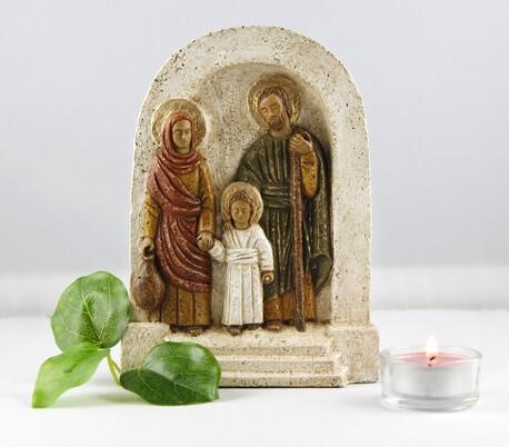 Płaskorzeźba św. Rodziny - Mały Nazaret (1)